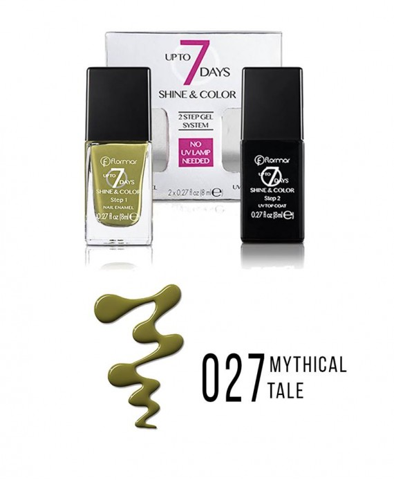 Flormar UP TO 7 DAYS SHINE & COLOR lak za nokte 8ml