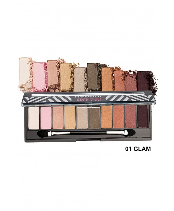 Flormar Color Wonder paleta sjena 10gr