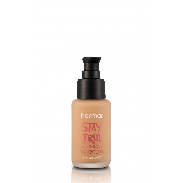 Flormar Stay True puder 50ml | face and body 50ml