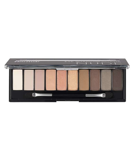 Flormar NUDE Eye Shadow paleta 10gr