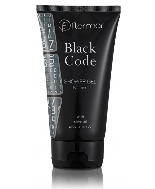 Flormar BLACK CODE SHOWER GEL for men