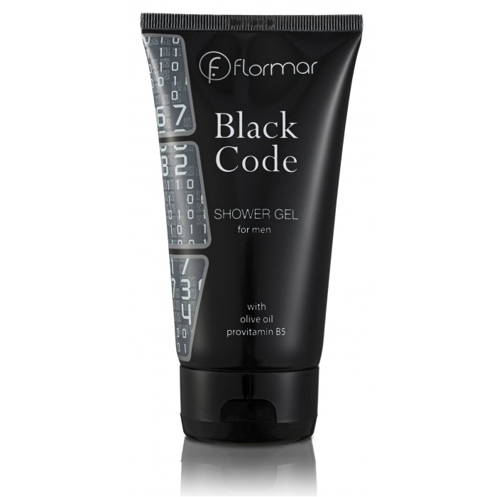 BLACK CODE SHOWER GEL for men