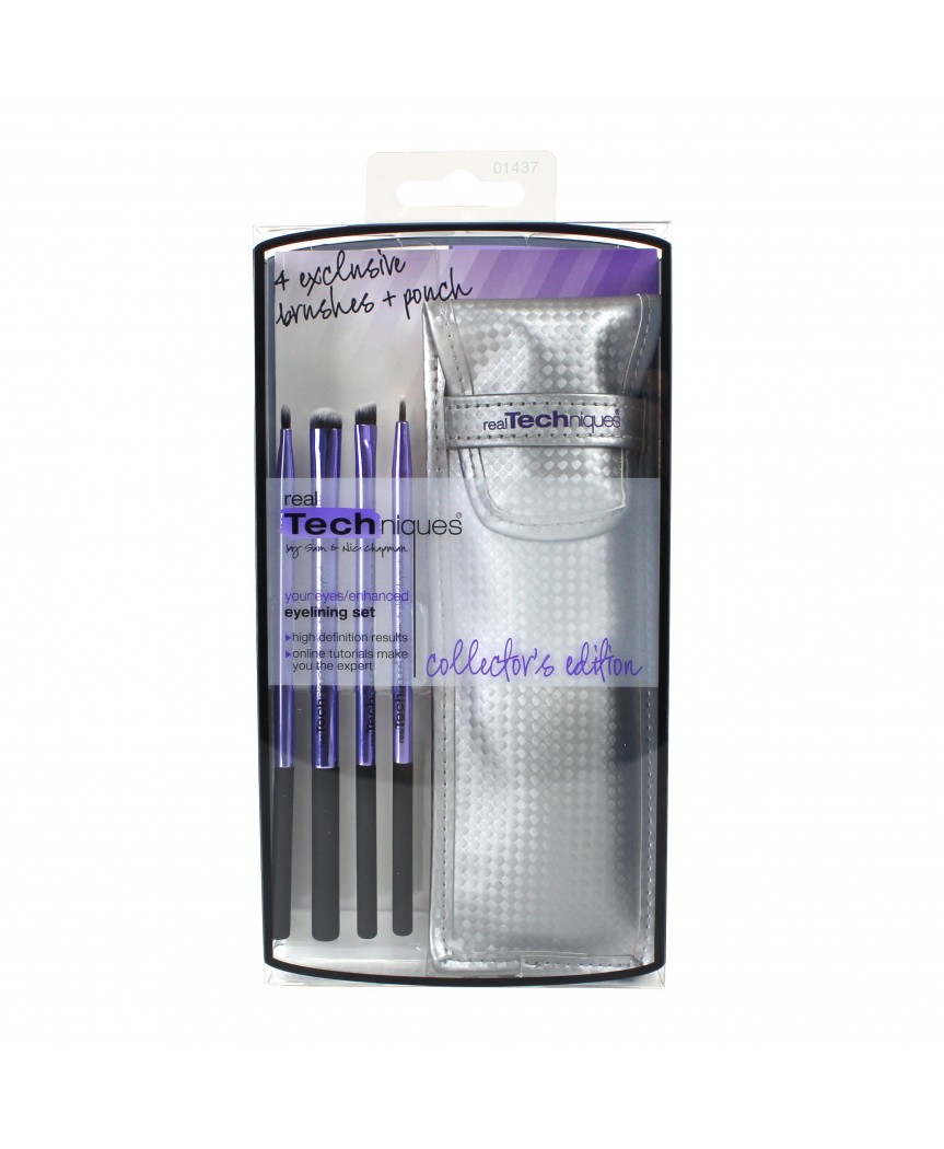 real Techniques četkice collector's edition eyelining set